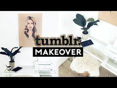 TUMBLR DESK MAKEOVER 2018! TRENDY & CHEAP | Nastazsa - YouTube Organisation Hacks, Desk Organization Diy, Diy Desk, Teen Room Makeover, Desk Makeover, Diy Room Decor Tumblr, Diy Wall Decor, Diy Tumblr, Floating Shelves Diy