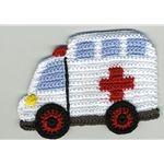 CROCHET ambulance appliques