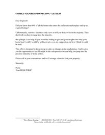 Real Estate Letters of Introduction   Real Estate Sales Covering ...
