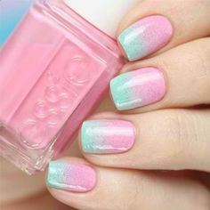 20 Beautiful Gradient Nail Art Designs – Be Fashionable - Diy Nail Designs Elegant Nail Designs, Ombre Nail Designs, Diy Nail Designs, Diy Nails, Cute Nails, Pretty Nails, Nail Lacquer, Luxury Nails, Trendy Nail Art