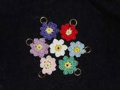 Free Crochet Patterns: Flower Garden Stitch Markers