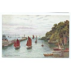 cornwall postcard 1937 looe a r quinton salmon posted Listing in the Cornwall,England,Topographical,Postcards,Collectables Category on eBid United Kingdom | 144063756