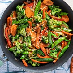 Stir Fry Recipe - Looking for the perfect stir fry recipe? Find out how to stir fry vegetables with our vegetable sau -Vegetable Stir Fry Recipe - Looking for the perfect stir fry recipe? Find out how to stir fry vegetables with our vegetable sau - Pastas Recipes, Vegan Recipes Videos, Healthy Recipe Videos, Healthy Dinner Recipes, Salad Recipes, Entree Recipes, Sandwich Recipes, Slimming World, Stir Fry Dishes
