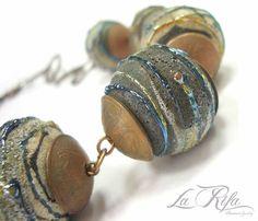 "Buy Beads ""Ain-2"". Lampwork. - lampwork (handmade), lampwork, eyes for knitted toys"