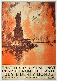WWI propaganda poster.