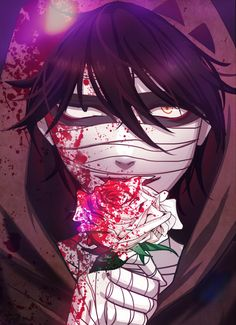 Isaac Foster - Satsuriku no Tenshi - Image - Zerochan Anime Image Board Angel Of Death, Fanarts Anime, Anime Characters, Yandere, Manga Angel, Boys Anime, Mad Father, Rpg Horror Games, Satsuriku No Tenshi