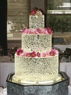 ice sculpture wedding cake - Google Search
