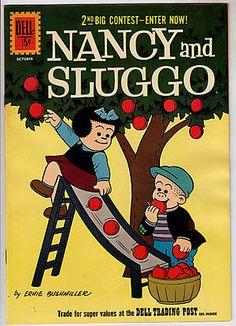 NANCY AND SLUGGO 1955-63 Front Cover