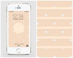 20 Free iPhone Wallpapers to Brighten Up Your Phone via Brit + Co.
