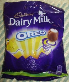 FOODSTUFF FINDS: Cadbury Dairy Milky Oreo Eggs (Pound World) [By @Cinabar]