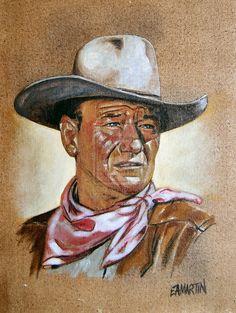 John Wayne by *Edwrd984 on deviantART