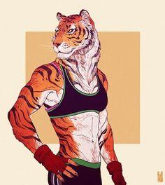 tiger girl fitness