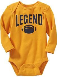 Old Navy   Graphic Bodysuits for Baby.got this.