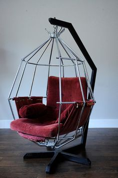 Rare Parrot Chair by Ib Arberg. Mid Century by GreatEstateGoods, $3250.00