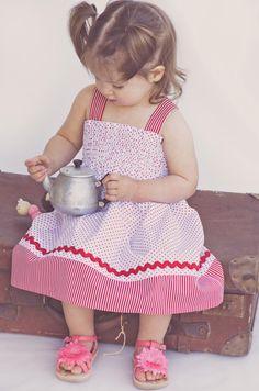 Shirred Dress 24