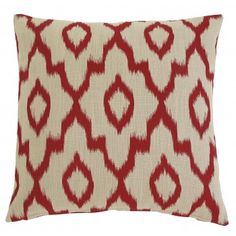 Pillows Icot - Brick Pillow by Signature Design by Ashley at Furniture Superstore - NM Red Throw Pillows, Toss Pillows, Floor Pillows, Accent Pillows, Decorative Throw Pillows, Machine Wash Pillows, Ikat Fabric, Traditional Furniture, Signature Design