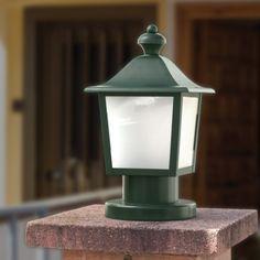Sobremuro, lámpara de exterior, lámpara para jardín.