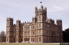 Downton Abby (Highclere castle).  Love the show!