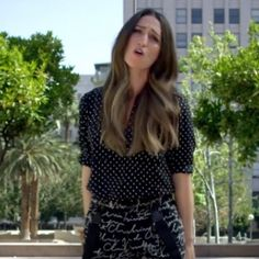 "Sara Bareilles' outfit in ""Brave"" music video. Love Sara, love the song, love the outfit.."