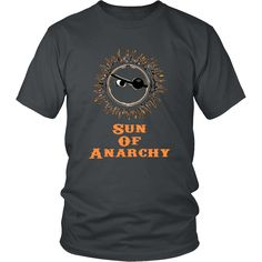 We at Neateeshirts have just released a new product. You can see it here: http://www.neateeshirts.com/products/sun-of-anarchy-t-shirt?utm_campaign=social_autopilot&utm_source=pin&utm_medium=pin. We get a great idea, we share it on a shirt.