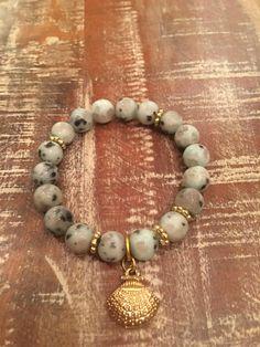 A personal favorite from my Etsy shop https://www.etsy.com/listing/528430272/kiwi-jasper-beaded-stretch-bracelet-with
