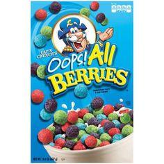 Buy Cap'n Crunch Oops All Berries 15.4 OZ (437g) | American Soda