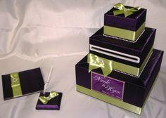 Elegant Custom Made Wedding Card BoxGuest by ExoticWeddingBoxes, $110.00