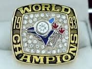 1993 Toronto Blue Jays World Series Champions Rings Ring Blue Jays World Series, World Series Winners, Baseball Ring, World Series Rings, Ring Of Honor, Sports Today, Championship Rings, Toronto Blue Jays, Bracelet Watch