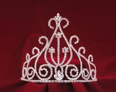 2235009aadf Elegant Rodeo Queen Tiara will fit perfectly on your cowgirl hat!