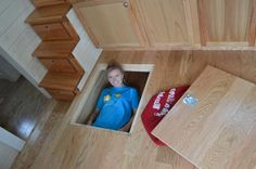 Smart Storage Solutions: 7 Lessons Learned from Tiny Homes: Smart Storage Solutions: Under Floor Storage