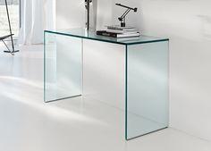 Tonelli Gulliver Glass Console Table
