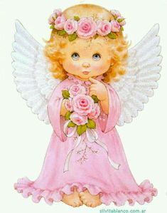 Baby angel of October Angel Images, Angel Pictures, Cute Pictures, Christmas Angels, Christmas Art, Vintage Christmas, Angel Clipart, Lapin Art, I Believe In Angels