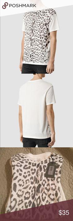 NWT all saints t shirt Mens never worn w tag all saints t shirt. Super soft All Saints Shirts Tees - Short Sleeve