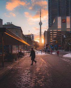 Toronto Canada, Toronto City, Downtown Toronto, Torre Cn, Sight & Sound, City Aesthetic, Instagram Worthy, Canada Travel, Cn Tower