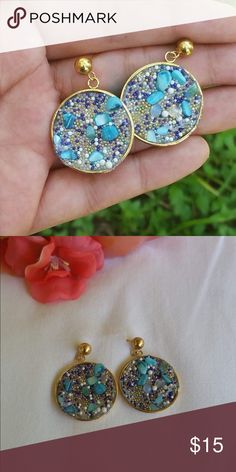 🦄Earrings🦄 Material:💎Stainless Steel Jewelry 💎.   HIGH QUALITY WILL NOT TARNISH OR RUST IT WILL KEEP IT COLOR A LIFETIME. ✔️FALLOW ON INSTAG @jandyavenue the shipping is more cheaper also some jewelry 📦💰 I accept 👍🏼Paypal for more info comment👇🏽or fallow💋  SHIPPING INFO:  Bundle to save Shipping  Ship same day or next day  No free shipping available for the moment sorry! Jewelry Earrings