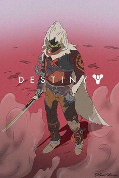 Lone Hunter Destiny Bungie, Destiny Cayde 6, Destiny Hunter, Destiny Video Game, Destiny Cosplay, Character Concept, Character Art, Concept Art, Character Design