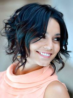 short-curly-haircuts-for-fine-hair - Medium Cut Hairstyles