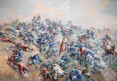 """The soldiers identified the 7th Cavalry's dead as best as possible and hastily buried them where they fell.  (Other Native accounts note several soldiers committing suicide near the end of the battle.)[citation needed] His body was found near the top of Custer Hill, which also came to be known as """"Last Stand Hill."""" There the United States erected a tall memorial obelisk inscribed with the names of the 7th Cavalry's casualties."""