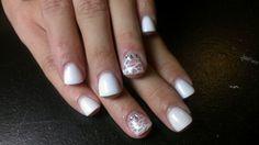 Full Acrylic on natural nails.