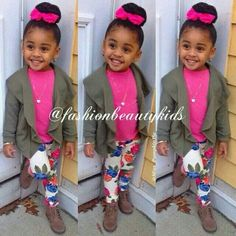 . Toddler Swag, Toddler Girl Style, Toddler Girl Outfits, Kids Outfits, Cute Kids Fashion, Little Girl Fashion, Toddler Fashion, Child Fashion, Kid Swag