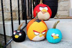 angry pumpkins LOL