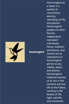 32 trendy bird tattoo meaning quotes beautiful Hummingbird Quotes, Hummingbird Symbolism, Hummingbird Tattoo Meaning, Hummingbird Spiritual Meaning, Animal Spirit Guides, Spirit Animal, Meant To Be Quotes, Fox Tattoos, Tree Tattoos