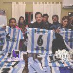Indumentaria para el equipo de 1ra. de futbol femenino del Club Racing de Tinogasta