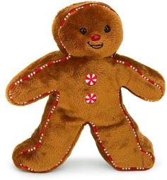 Gingerbread boy...stocking stuffer...