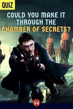 Harry Potter Quiz: Could You Make It Through The Chamber of Secrets? Harry Potter Riddles, Harry Potter Quiz, Harry Potter Studios, Harry Potter Characters, Hp Quiz, World Quiz, Middle School Books, Quizzes For Fun, Chamber Of Secrets