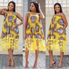 Looking for the best ankara fashion creative ideas and inspiration for your next fashion project? Look no further, here's the complete 2018 Most Creative Ankara Styles And Designs Short African Dresses, African Print Dresses, African Print Fashion, Africa Fashion, African Fashion Dresses, Short Dresses, Ankara Fashion, African Clothes, African Prints
