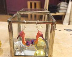 Handmade unique mini shoe earrings от YinyingO на Etsy