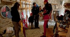 RITORNO AL '400 Fortezza di San Leo (RN) 15th century reenactor ricostruzione storica re-enactment living history italy renaissance famaleonis