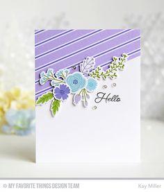 MFT Beautiful Blooms Card Kit - Kay Miller  #mftstamps