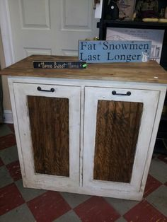 Double to it out trash can and recyclables $169